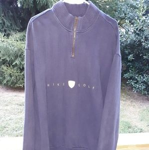 Nike golf Pullover 1/4 zip fleece xxl